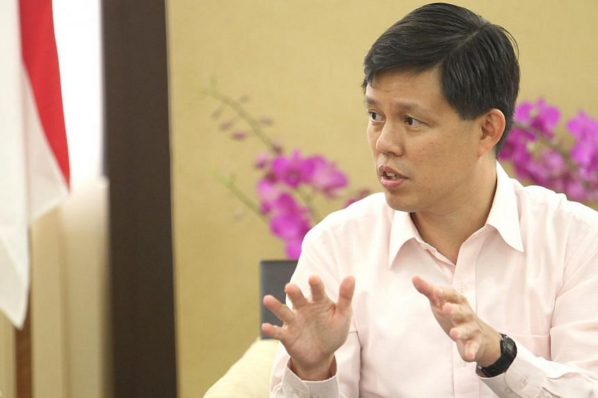 """There is """"much to do, much to do better and much to do together"""", said Minister for Social and Family Development Chan Chun Sing on Wednesday at the first Social Service Partners Conference at Marina Bay Sands. -- PHOTO: ST FILE"""