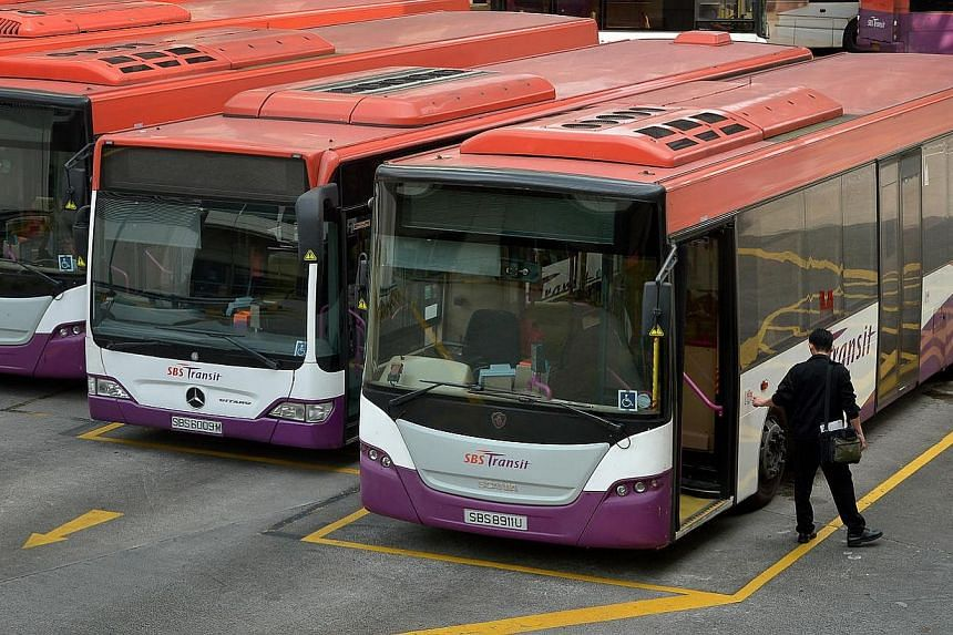 The public bus industry will undergo a major shift in the way it is run starting from the second half of this year, in a move to improve bus services further. -- ST PHOTO: KUA CHEE SIONG