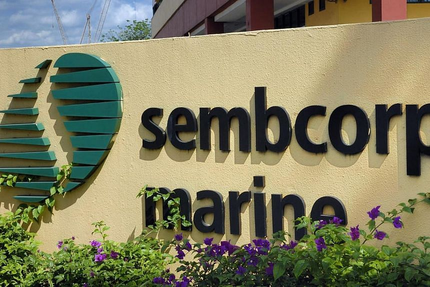 A unit of marine and offshore engineering group Sembcorp Marine has clinched a US$236 million (S$296 million) contract to build a jack-up rig, the Singapore-listed group said on Wednesday, May 21, 2014. -- PHOTO: BLOOMBERG