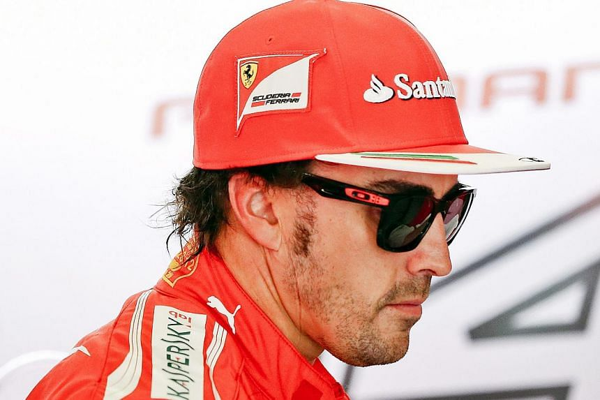 Fernando Alonso may hold few hopes of winning this weekend's Monaco Grand Prix for Ferrari, but he does believe that champions Red Bull can mount a challenge to runaway leaders Mercedes. -- FILE PHOTO: EPA
