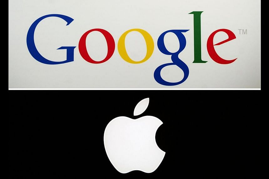 US search engine Google has overtaken rival technology titan Apple as the world's top brand in terms of value, global market research agency Millward Brown said on Wednesday. -- FILE PHOTO: AFP