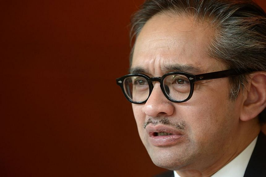 """Indonesian Foreign Minister Marty Natalegawa has criticised the Australian government for a lack of communication over its turning back of asylum-seeker boats to his country, saying """"we are somewhat caught by surprise"""". -- PHOTO: ST FILE"""