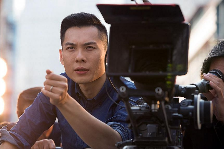 Anthony Chen (above) on acting in the ad. -- PHOTO: TIGER BEER