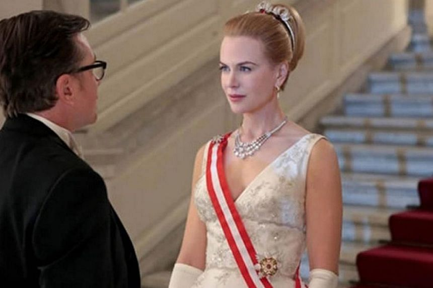 Actress Nicole Kidman is too icy and stiff in her role as Grace Kelly in Grace Of Monaco.