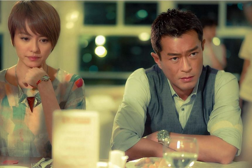 Gigi Leung and Louis Koo (both left) as a married couple in Aberdeen.