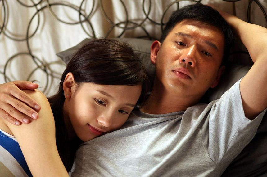 Love In A Puff's leads Miriam Yeung and Shawn Yue (far left) and Vulgaria's Dada Chen and Chapman To (both left).