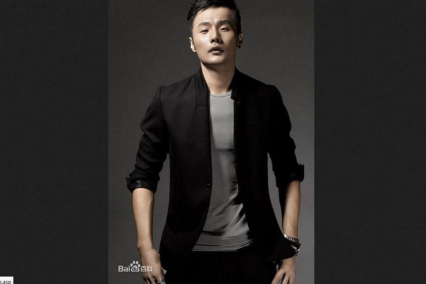 Chinese singer Li Ronghao. PHOTO: BAIDU