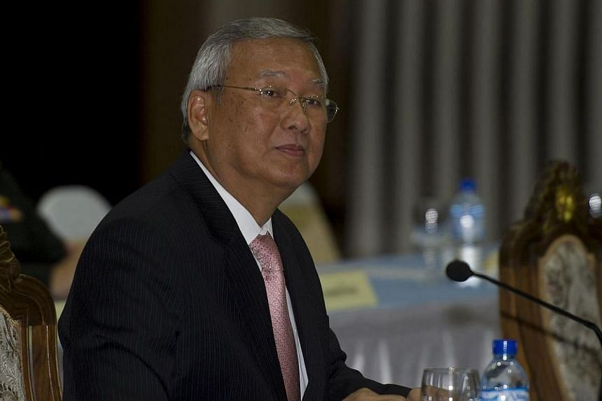 The US ambassador in Thailand said on Thursday, May 22, 2014, night that acting Thai prime minister Niwuttamrong Boonsongpaisanis not at the US embassy in Bangkok. -- PHOTO: AFP