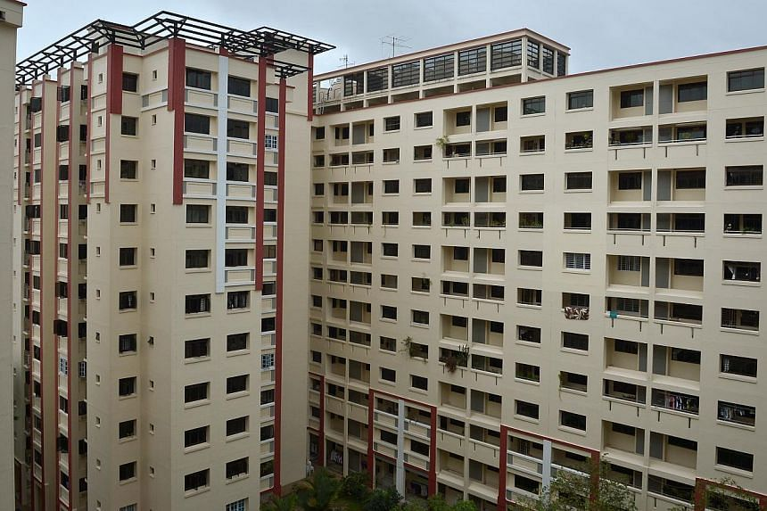 HDB flats in Woodlands. There were two BTO projects each in Bukit Batok and Woodlands, offering two- to five-room flats and larger Three-Generation or 3Gen flats for multigenerational families. -- PHOTO: ST FILE