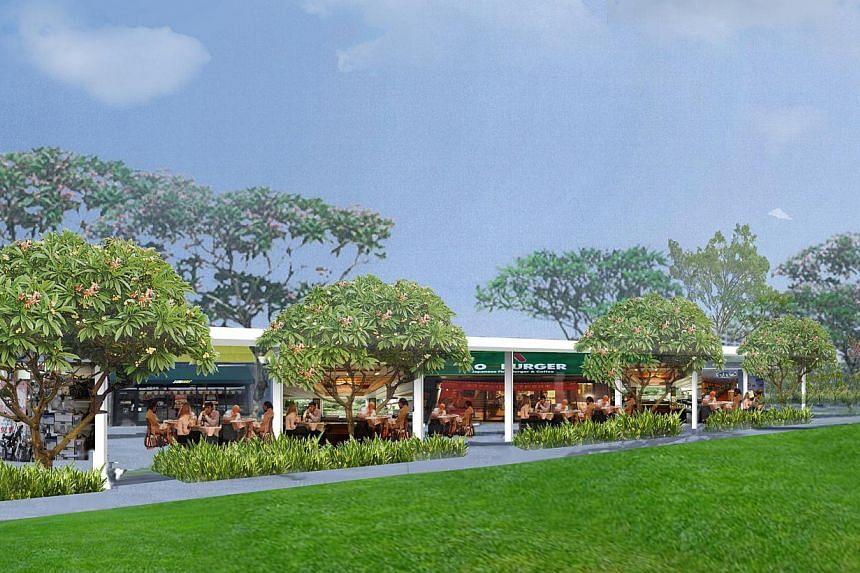 Artist Impression of Parkland Green at East Coast Park. -- PHOTO: NATIONAL PARKS BOARD