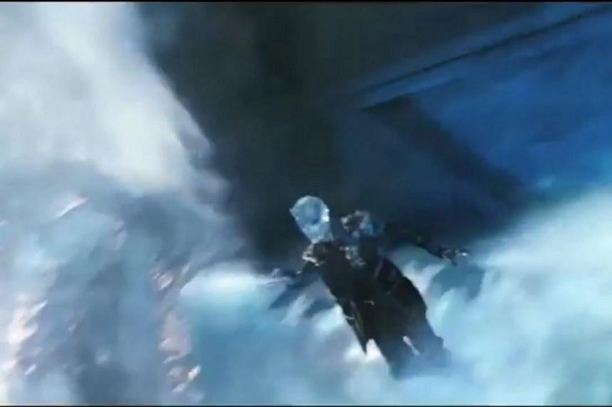 Skeel Lee worked on special effects such as Blink's portals, (above) the ice spray by mutant Iceman and the fire that shoots from the chest of mutant Sunspot. -- PHOTO: COURTESY OF SKEEL LEE, YOUTUBE
