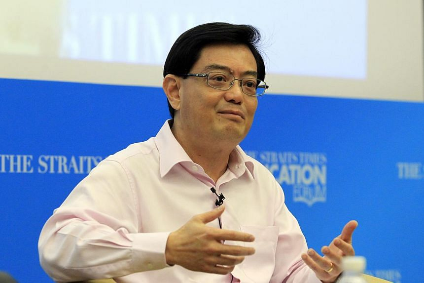 "PSLE will be part of his ministry's agenda for the second term of Parliament, but it is not a ""standalone piece"", said Education Minister Heng Swee Keat on Thursday at the sidelines of the first graduation ceremony for Singapore Polytechnic. -- ST PH"