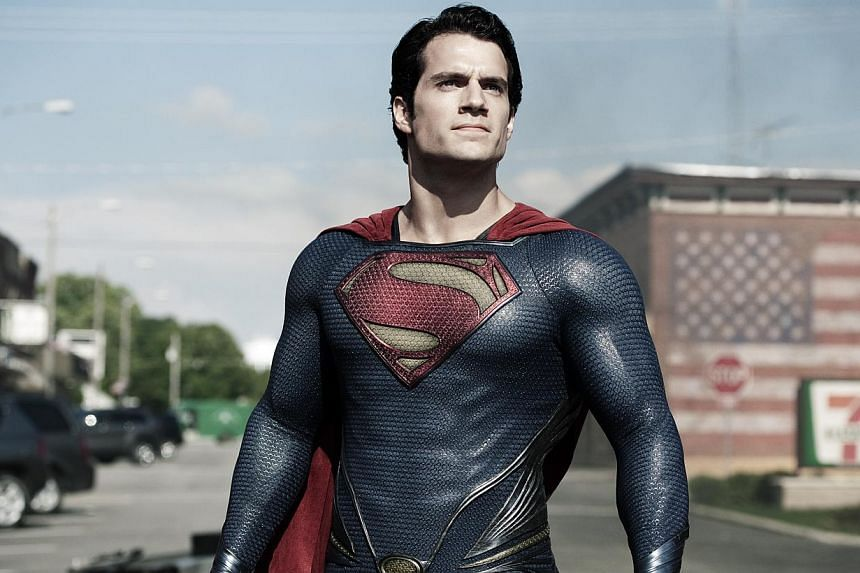 Cinema still: Man Of Steel, starring Henry Cavill. -- PHOTO: WARNER BROS