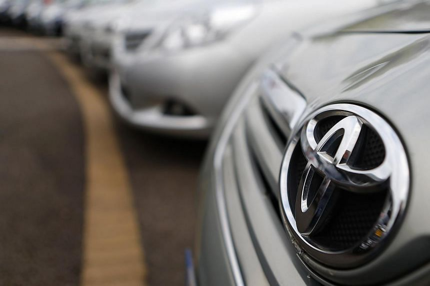Toyota on Friday said it is recalling about 520,000 vehicles, mostly in North America, over several issues including cable corrosion that could see unused spare tyres fall off. -- PHOTO: REUTERS