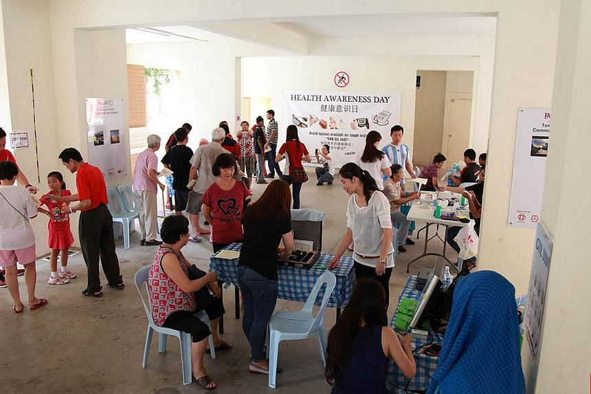 A team from the Tampines Arcadia Residents' Committee organises monthly events to promote healthy living, and also help neighbours get to know each other better. The project is one of 35 Good Neighbours Projects that will be showcased at this year's