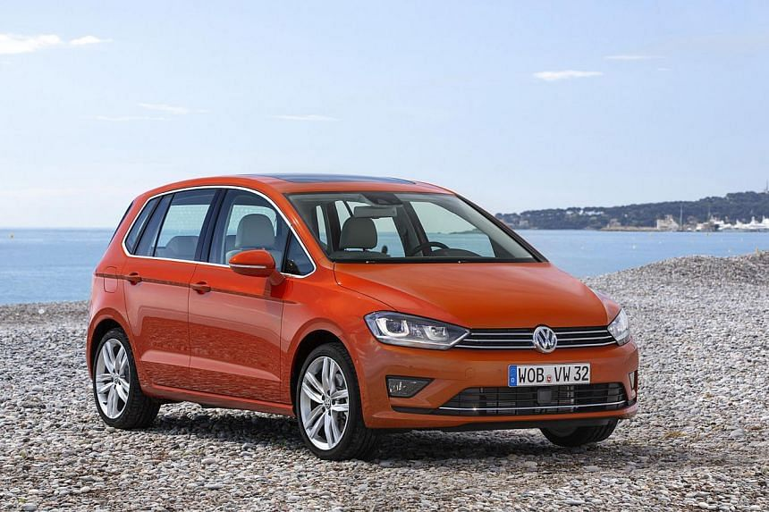 The VW Golf Sportsvan is compact on the outside and spacious inside. -- PHOTO: VOLKSWAGEN