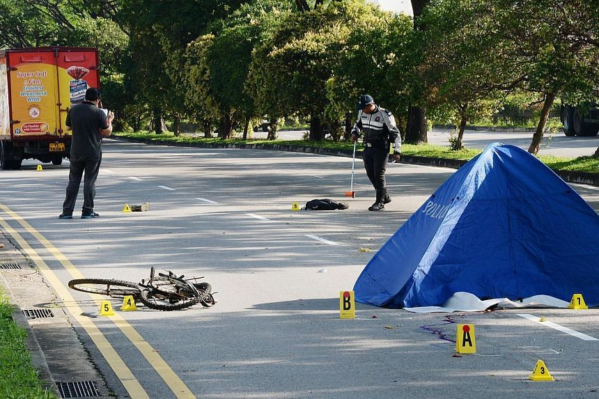 The 35-year-old Indian cyclist who died in the Woodlands accident. In the incident along Woodlands Avenue 10, the deceased is said to be a shipyard worker who was on his way to work when the accident occurred.