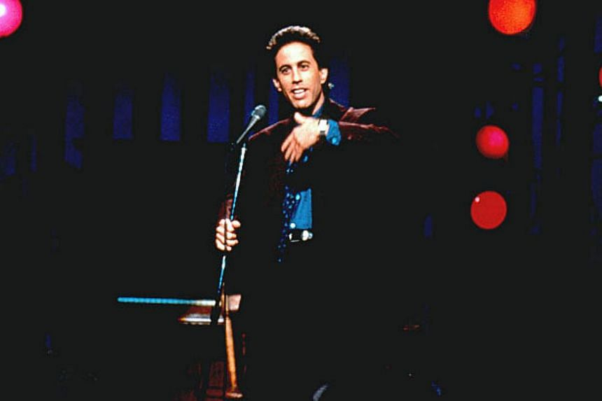 US comedian Jerry Seinfeld, who is the richest actor in the world.A recent rich list survey had Bollywood actor Shah Rukh Khan as the second-richest actor in the world. -- PHOTO:NBC NETWORK
