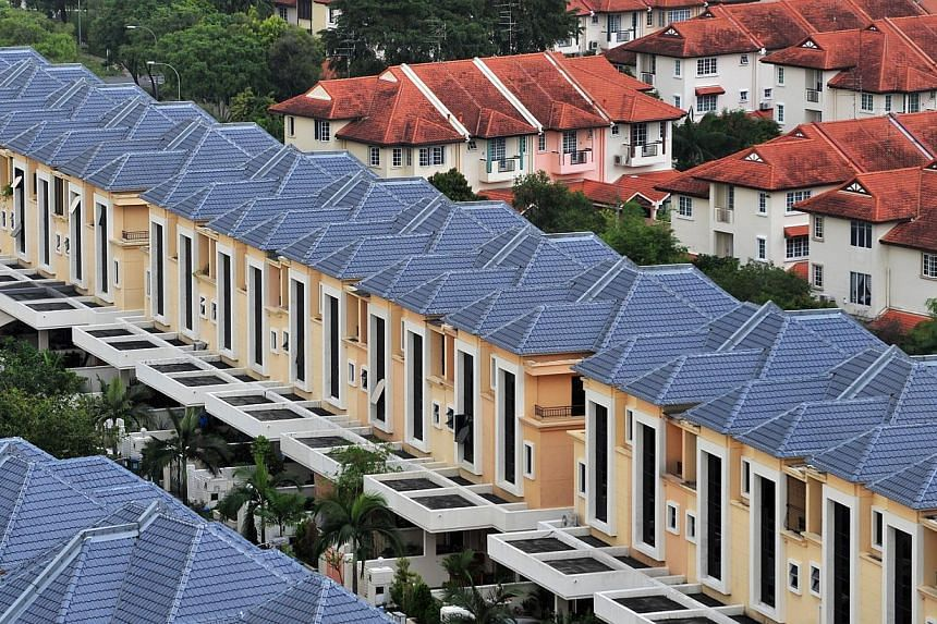 Private home leasing demand picked up in the first quarter this year and could grow further as the economy improves, property consultancy Savills said on Monday. -- FILE PHOTO: ST