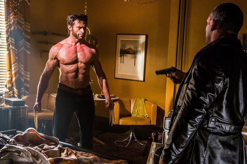 X-Men: Days Of Future Past starring Hugh Jackman (left). -- PHOTO: TWENTIETH CENTURY FOX/CINEMA STILL