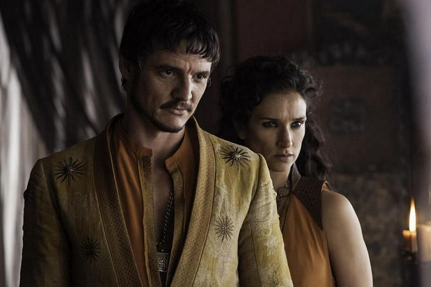 Chilean-American actor Pedro Pascal, a new addition to TV series Game Of Thrones in the latest Season 4, is already well-versed in the art of not giving away any spoilers. -- PHOTO: HBO ASIA