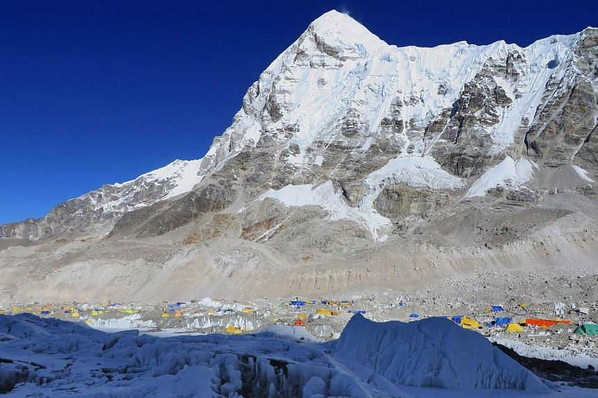 Malavath Poorna, a 13-year-old poor Indian schoolgirl has become the youngest female to summit Mount Everest, following a difficult and dangerous climb from China's Tibetan side, her expedition organiser said on Monday. -- FILE PHOTO: AFP