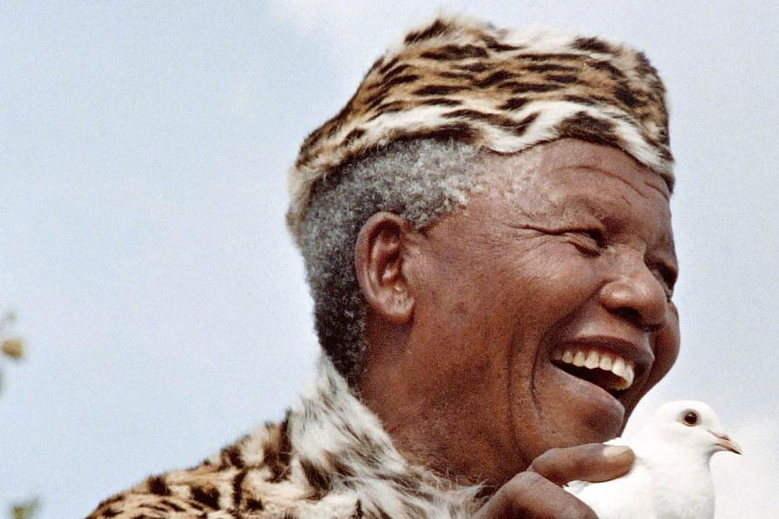 An opera telling the life story of the late South African icon Nelson Mandela (above) showed only three performances before it closed down for lack of funds, its producer said on Monday. -- FILE PHOTO:AFP