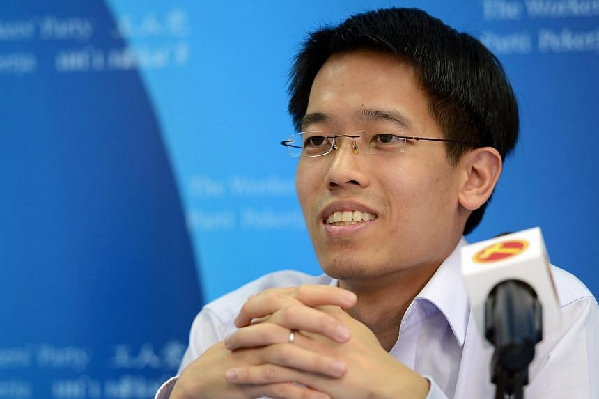 Worker's Party MP Gerald Giam took aim at various government policies including CPF and Medisheld on Tuesday as he criticised the Government for transferring its risks to Singaporeans. -- PHOTO: ST FILE