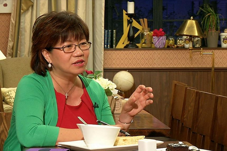 Ms Denise Phua (Moulmein-Kallang GRC) called for the scrapping of the elected presidency and a return to a ceremonial role for the head of state. -- ST FILE: T KUMAR
