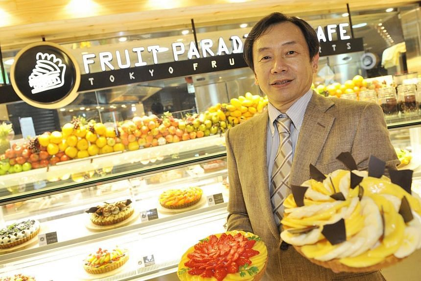 Mr Takahashi Kenichi, the chief executive of Japan Foods Holdings.Japan Foods Holding said it has achieved another record year in profit and revenue. -- PHOTO: ST FILE