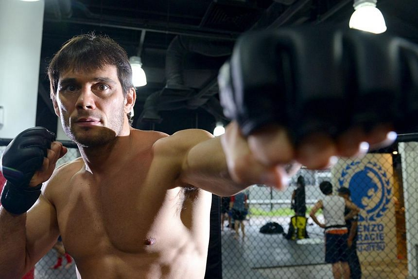 Rich Franklin at the Evolve MMA gym in Singapore on May 9, 2012. In one of its biggest moves to date, One Fighting Championship has roped in the mixed martial arts legend as its vice-president in charge of fighter development, media engagement a