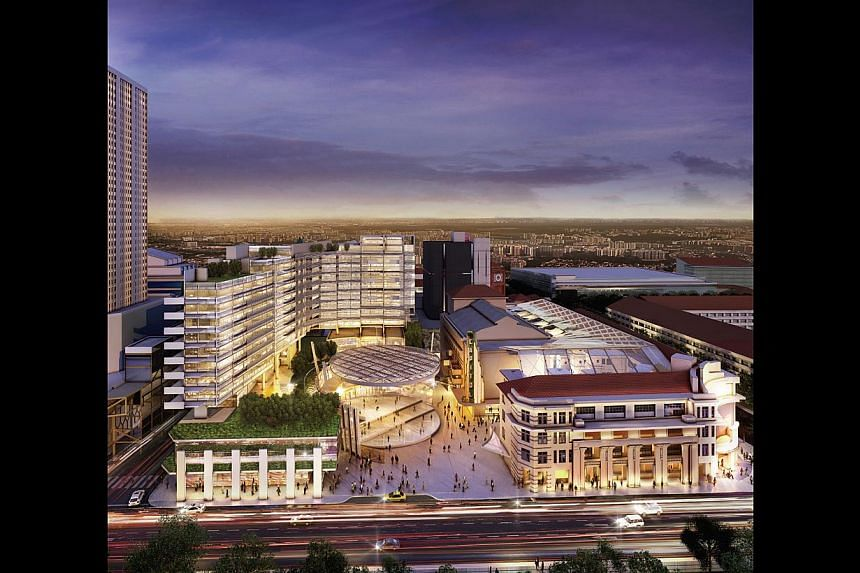 The underground link between Capitol Singapore (above) and City Hall station will be funded and constructed by Capitol Investment Holdings.