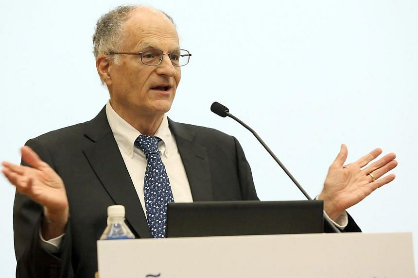 The Singapore Management University (SMU) has appointed Nobel Laureate Thomas J. Sargent as distinguished professor of economics, for a three-year term from January 1 2015. -- PHOTO: SMU