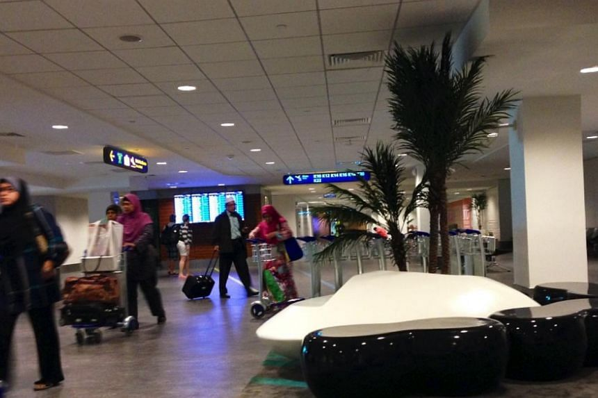 The huge size of the new KLIA2 means longer walking distances for passengers. - PHOTO: CAROLYN HONG