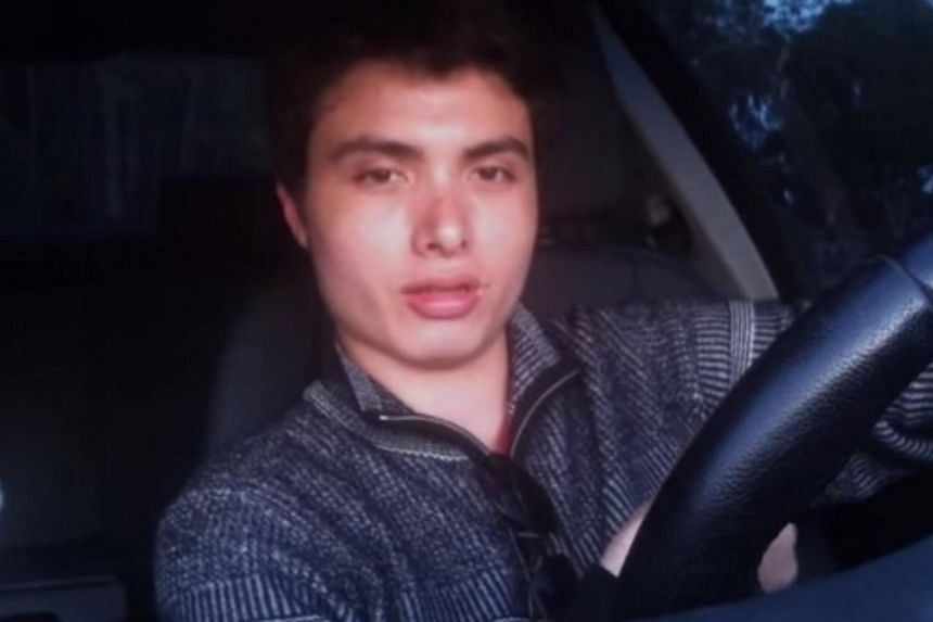 22-year-old gunman Elliot Rodger in a YouTube video screengrab. -- PHOTO: YOUTUBE SCREENGRAB