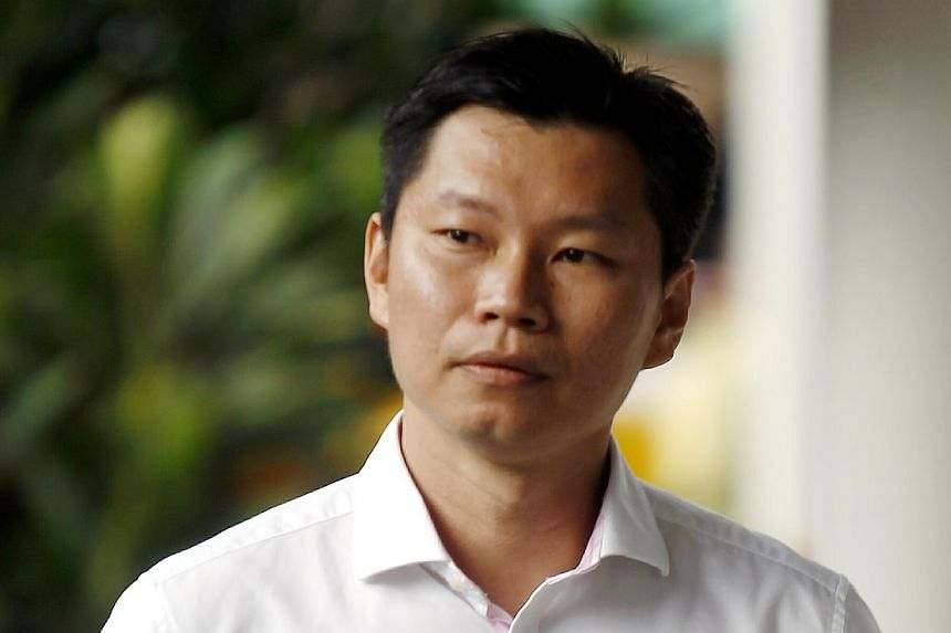 National Parks Board assistant director Bernard Lim Yong Soon has been convicted of lying to auditors in 2012 over a $57,200 Brompton bicycles deal. -- ST PHOTO: WONG KWAI CHOW