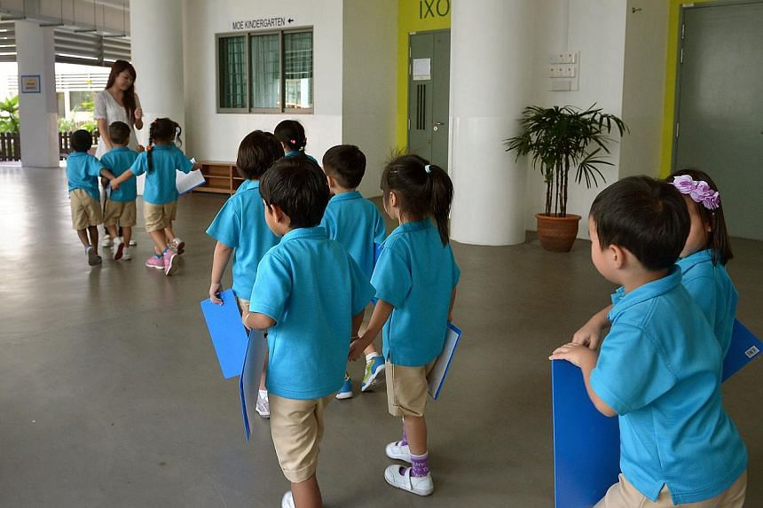 More attention should be paid to the early childhood education sector, said Mr Lim Wee Kiak (Nee Soon GRC) in Parliament on Thursday. -- ST PHOTO:KUA CHEE SIONG