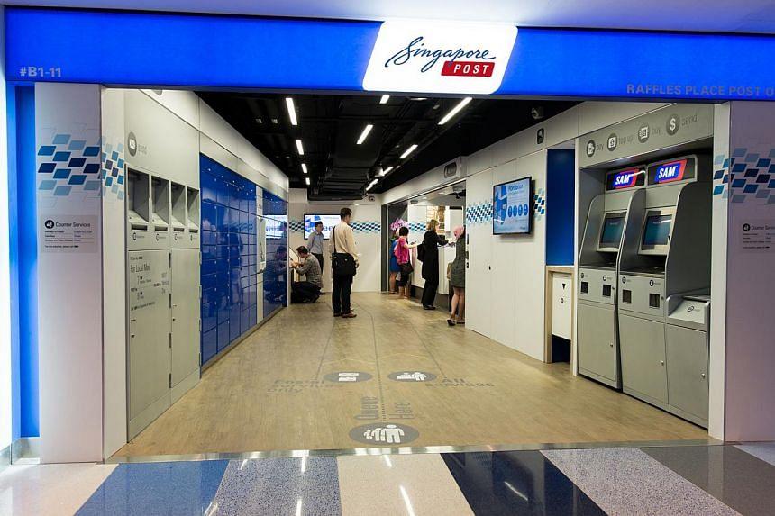 Singapore Post branch. -- PHOTO:SINGAPORE POST LIMITED