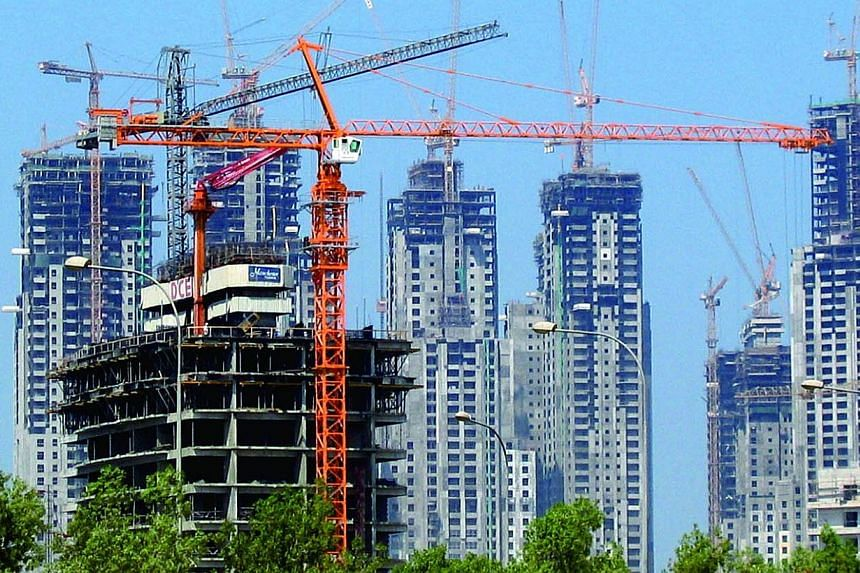 Tat Hong Holdings is the world's largest crawler-crane company. -- PHOTO: TAT HONG