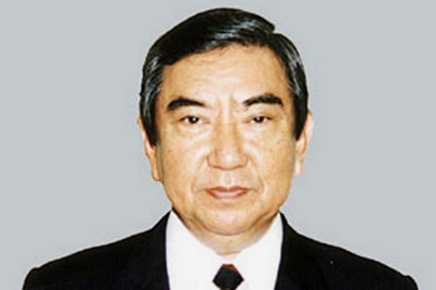 Yohei Kono, one-time chief spokesman of the Japanese government, who lent his name toa landmark 1993 apology over the comfort women issue. -- PHOTO: YOMIURI SHIMBUN