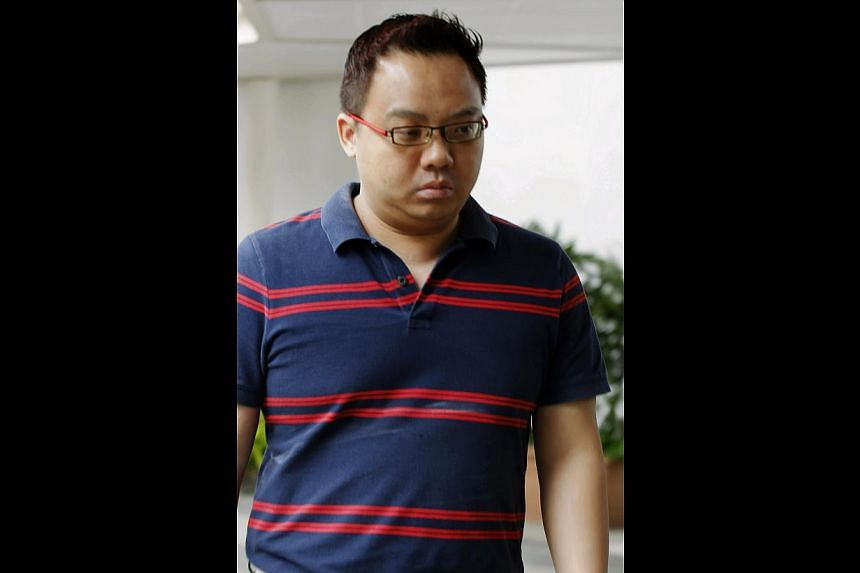 Media Development Authority (MDA) assistant director Lai Wai Khuen, accused of corruption and forgery, pleaded guilty to six charges on Friday.  -- ST PHOTO: WONG KWAI CHOW