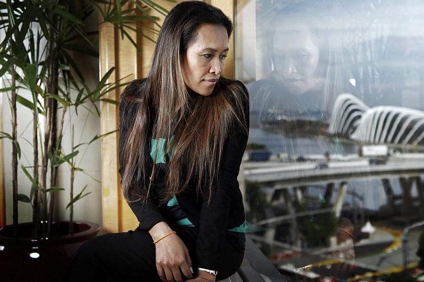 Somaly Mam, ahigh-profile anti-sex slavery activist. -- PHOTO: ST FILE