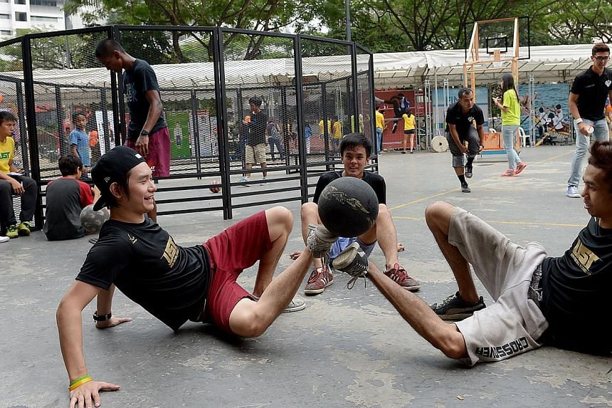 *Scape in Orchard Road. The youth hangout will be reviewed so that its space can be better used and its programmes will be more appealing and relevant to youths in areas like music and media.-- PHOTO: BERITA HARIAN FILE
