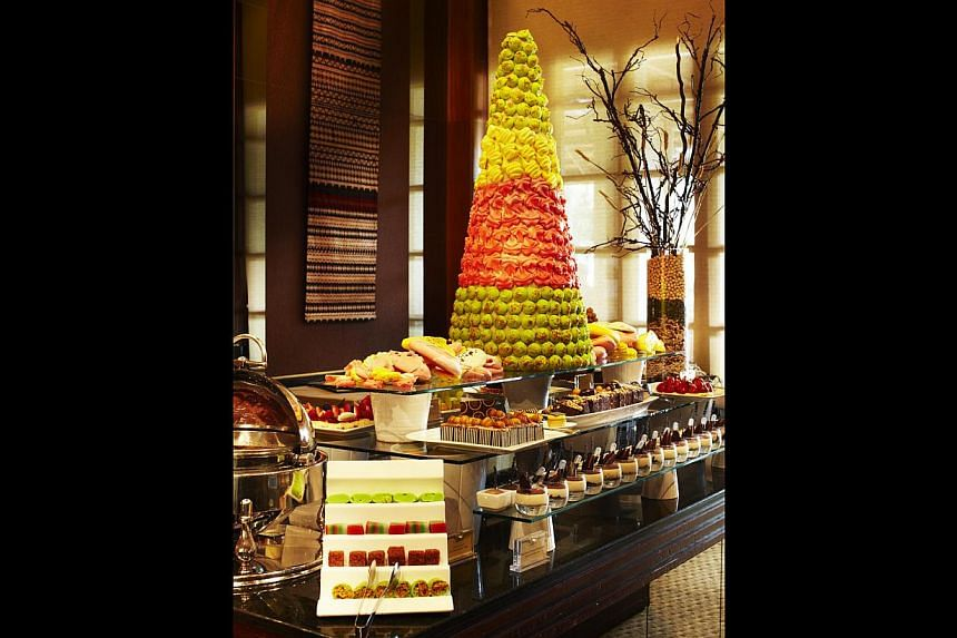 A special kids' buffet section is part of The Terrace's spread for adults. -- PHOTO: THE SENTOSA RESORT & SPA SINGAPORE