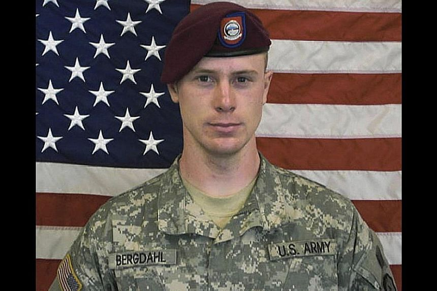 US Army Sergeant Bowe Berghdal is pictured in this undated handout photo provided by the US Army and received by Reuters on May 31, 2014. Bergdahl, who had been held for nearly five years by Afghan militants, was handed over to US Special Operations