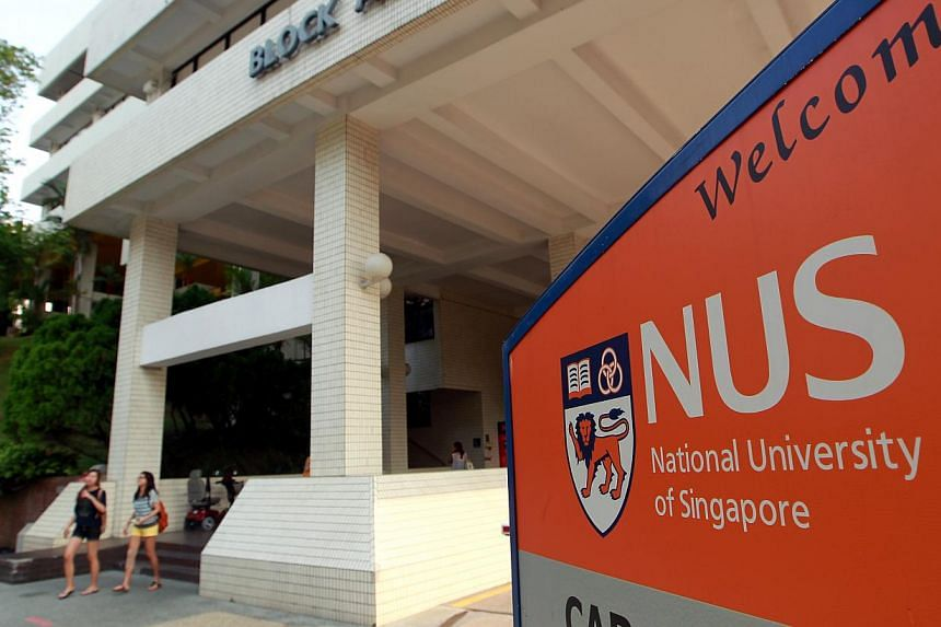 The National University of Singapore (NUS) campus. The annual pre-university seminar opened at the National University of Singapore on Monday morning. -- PHOTO: ST FILE