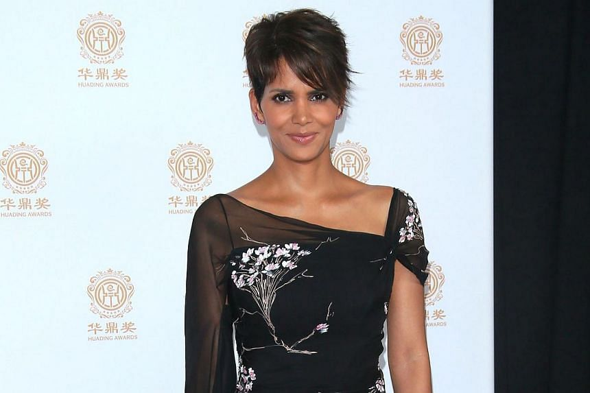 Actress Halle Berry attends the Huading Film Awards on June 1, 2014, at Ricardo Montalban Theatre in Los Angeles, California Mark Davis. -- PHOTO: AFP