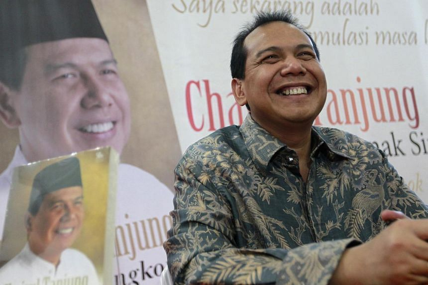 Mr Chairul Tanjung, Indonesia's new chief economics minister, attends a book launch in Jakarta on July 2, 2012.Indonesia's copper industryis pinning its hopes on Mr Chairul to help restart concentrate exports worth hundreds of millions of