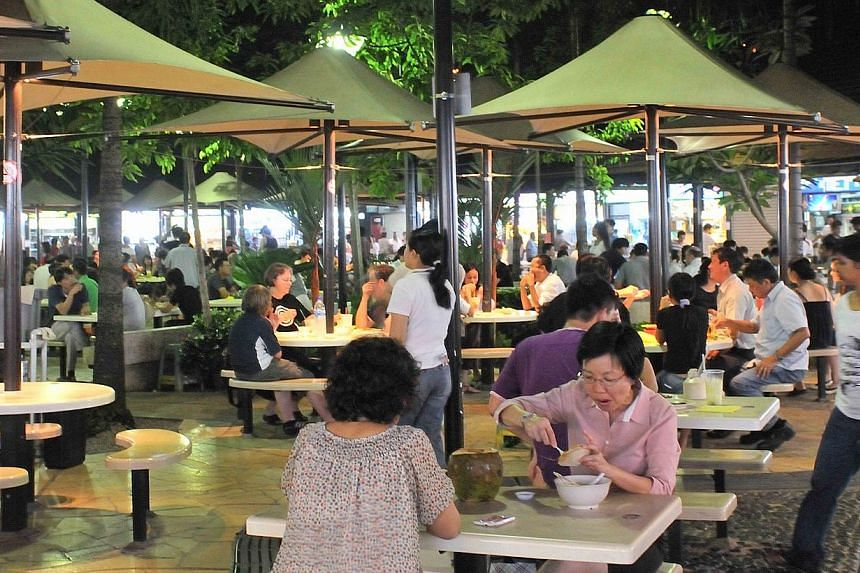 The Botanic Gardens (top) and Newton Food Centre are possible sites worthy of conservation. The Straits Times has launched an online poll to pick favourites.