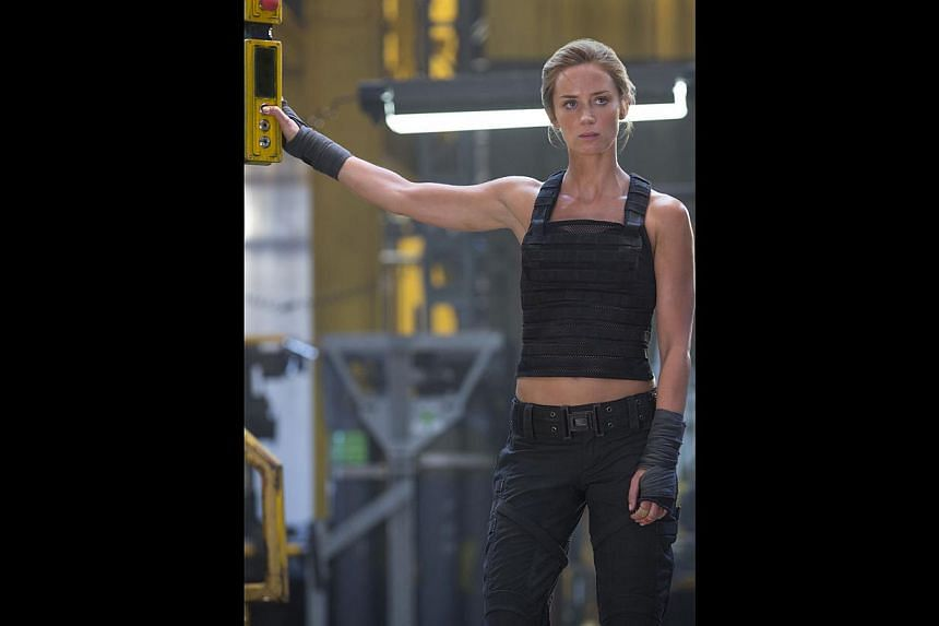 Emily Blunt on her physical transformation to play Rita Vrataski (above). -- PHOTO: GOLDEN VILLAGE